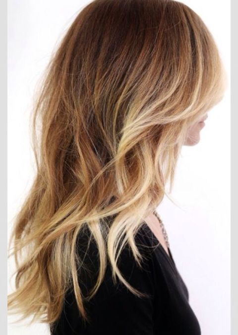 Like grown-out sunkissed highlights