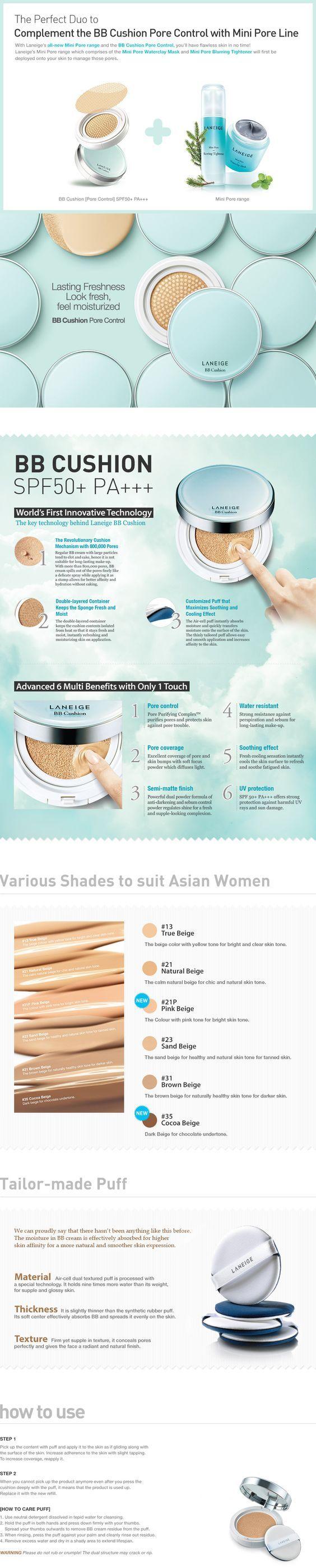 BB Cushion Pore Control | Laneige