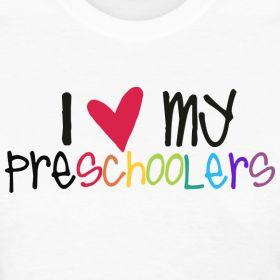 my preschoolers | Teacher T-Shirts