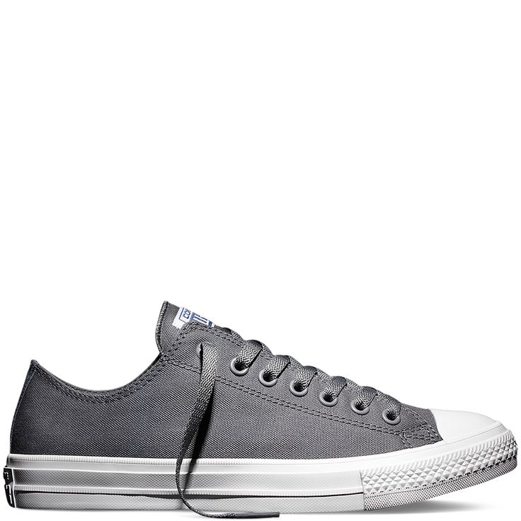 Converse - Chuck Taylor All Star II - Thunder - Low Top Grey size