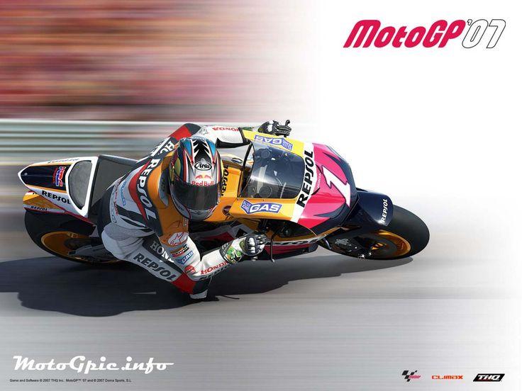 Repsol Honda Motogp Game Wallpaper