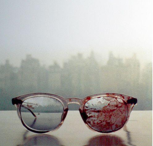 the glasses John Lennon wore when he was shot 31 yrs ago. <3  ✞