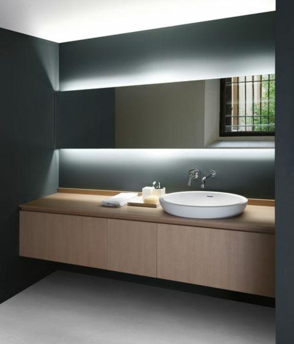 Badezimmer tisch  Die 25+ besten Bad unterschrank holz Ideen auf Pinterest ...