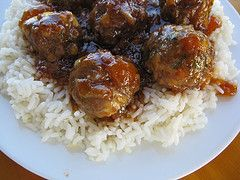 Manhattan Meatballs | Favorite recipes | Pinterest