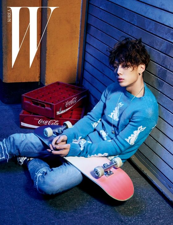iKON's Bobby Puts His Aspirations in Writing for W Korea Pictorial | Soompi