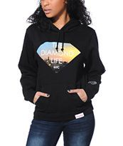 Diamond Supply Co NY Diamond Life Black Pullover Hoodie at Zumiez : PDP
