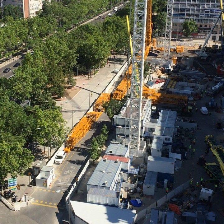 Gran Obron Del Bernabeu Madrid Obras In 2020 List