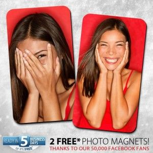 2 Free Photo Magnets Value $10 - Walmart Photo Center