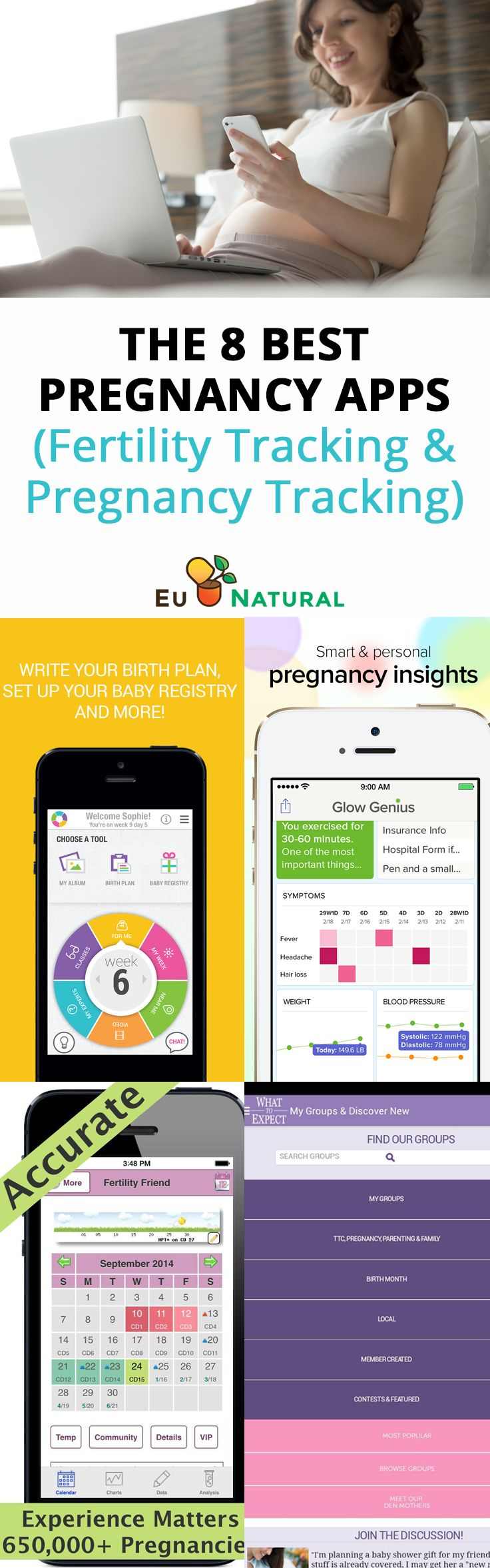 The Most Popular Pregnancy Apps in 2017 (Fertility Tracking & Pregnancy Tracking)