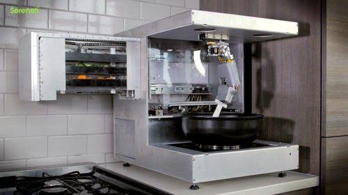 家庭用ロボットシェフ「COOKI」は食材から調理して、出来立ての料理を提供してくれる。一般家庭用のクッキングロボットだ。ロボットとAIの組み合わせに脅威を持つ人が多いが、これは平和的なプロダクト。