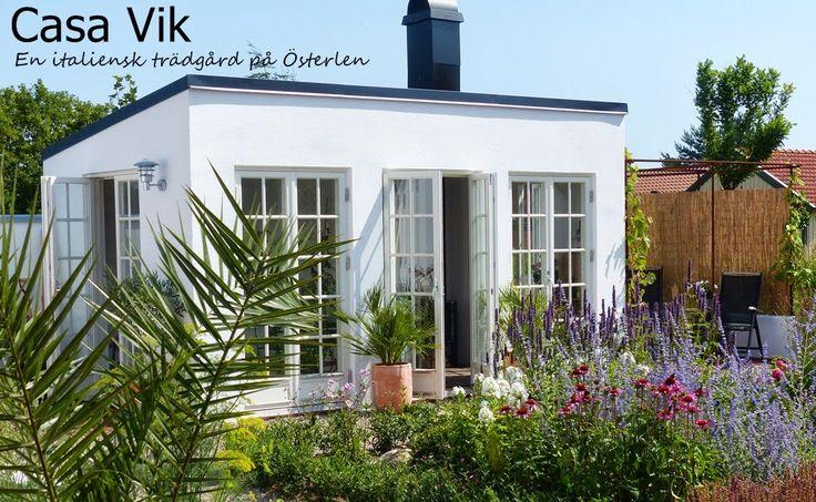 Casa Vik - en italiensk trädgård på Österlen