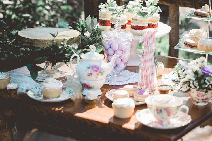 styled bridal tea party treats editorial photoshoot  product photography