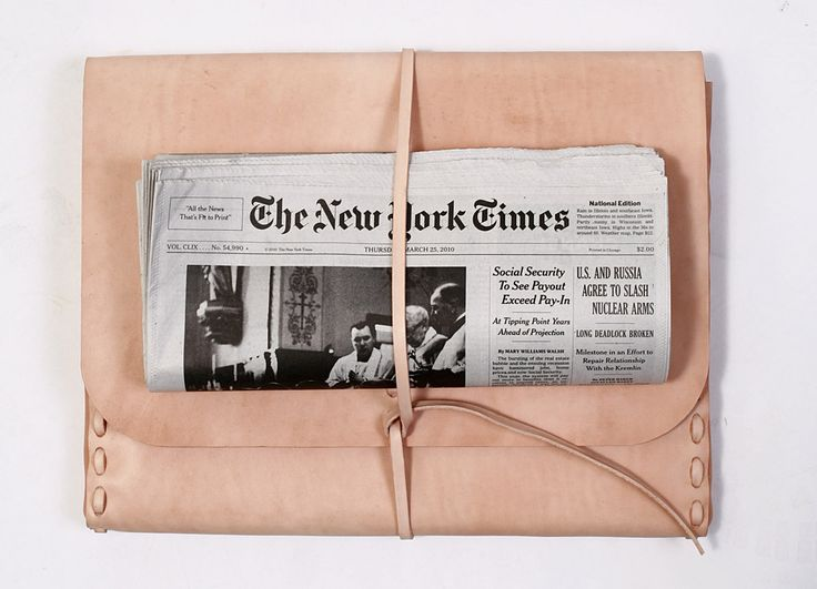 ..Leather Satchel, Laptops, Colors, Leather Clutches, Blushes, Ny Time, New York Time, Bags, Newspaper