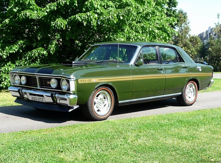 Monza Green 1971 Ford XY Falcon GT-HO Phase III