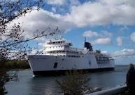 Chi-chi-maun ferry, Tobermory (north end of Bruce trail) to Manitoulin Island, both in Ontario