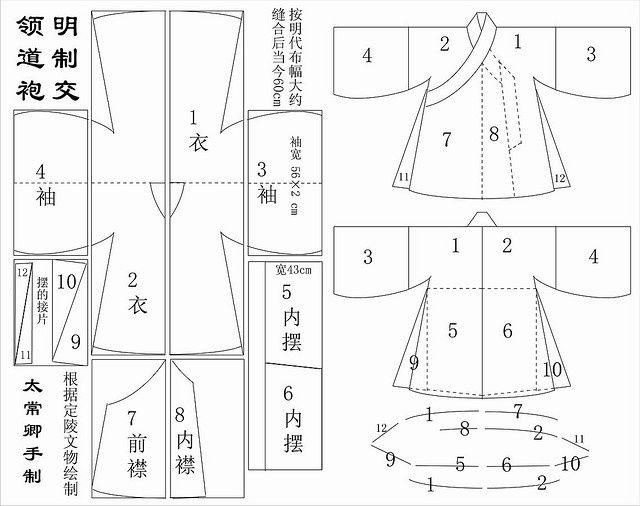hanfu song garment production