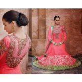 Indian Designer Gorgeous Stunning Long Length Anarakali Party Wear