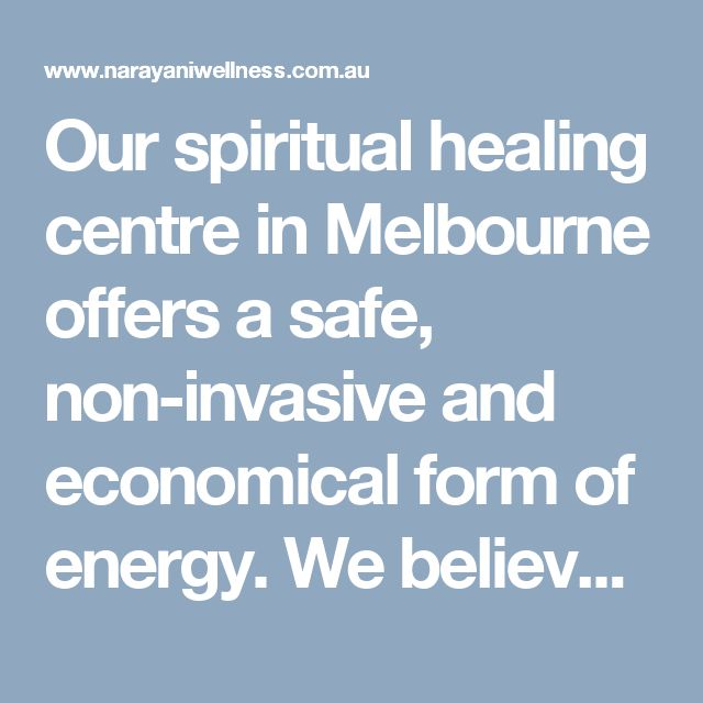 Our spiritual healing centre in Melbourne offers a safe, non-invasive and economical form of energy. We believe that our patient's are more than just the illness's that they come to us for help for. We specialise in gut health and can help you optimise your digestion.  Visit here: http://www.narayaniwellness.com.au/shared-care-model/