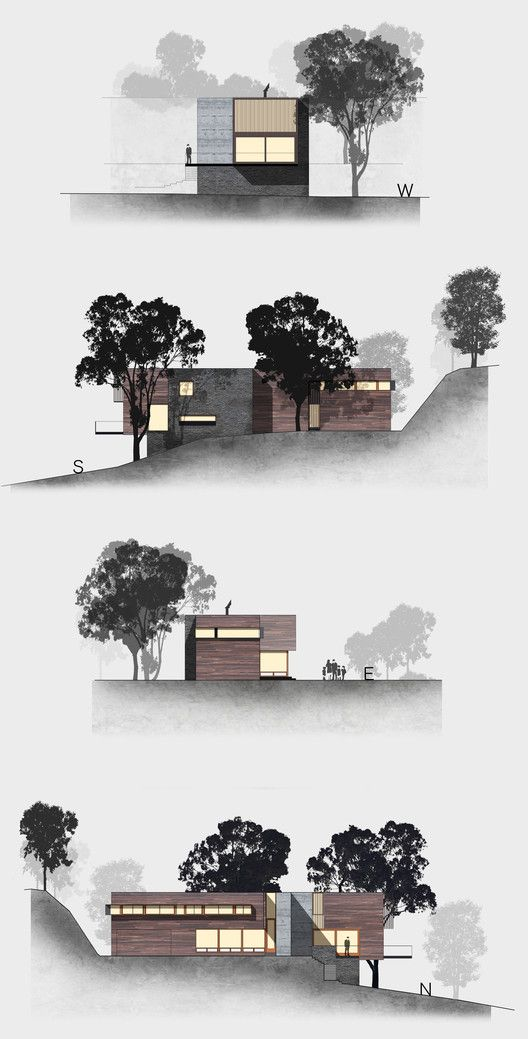 25 best ideas about elevation drawing on pinterest for Architecture elevation