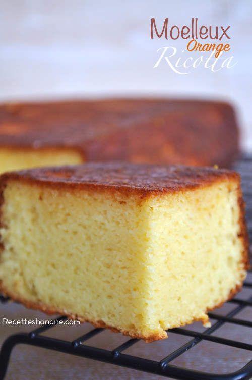 Un gâteau très fondant, sans beurre, à la texture humide et parfumé à l'orange! Ce moelleux est parfait pour accompagner le thé ou en dessert accompagné de fruits et d'une boule de glace par exemple... Vous pouvez également découper ce gâteau en petits...