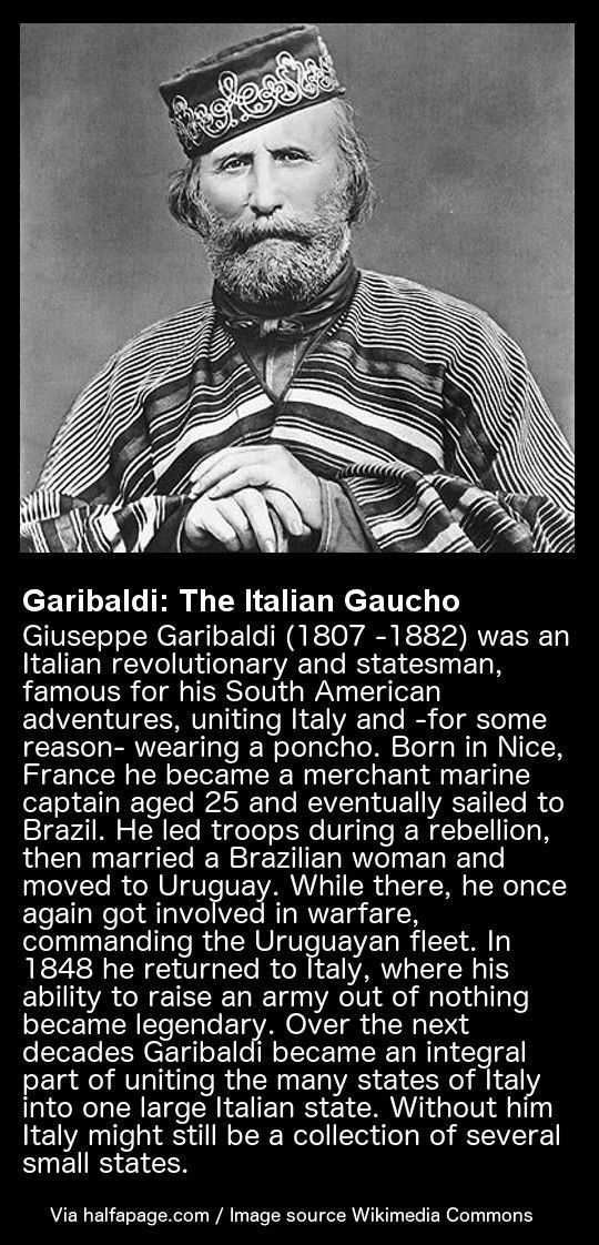 Garibaldi: The Italian Gaucho - Giuseppe Garibaldi