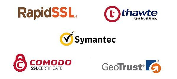 Image result for ssl certificate brands