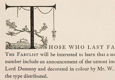 William Addison Dwiggins coined the term graphic designer in 1922 Fine Press Book Association