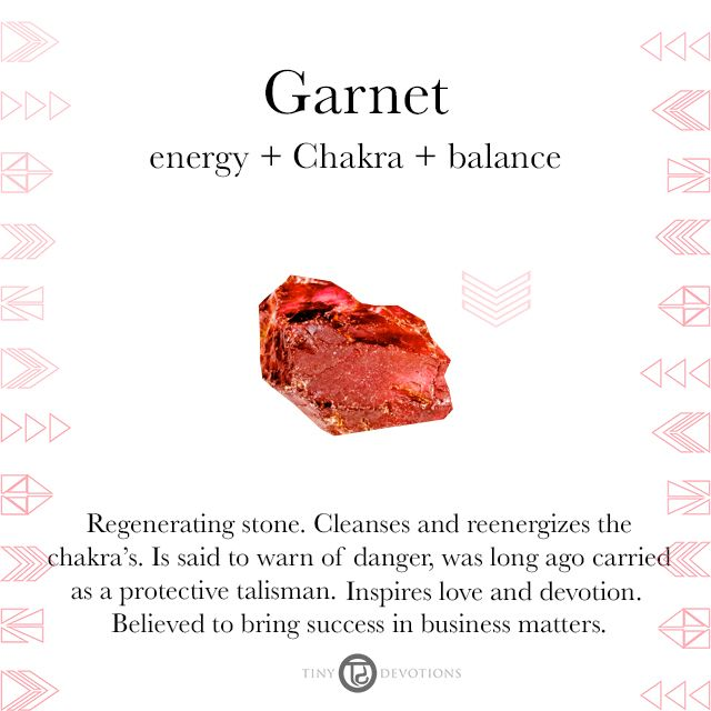 Garnet | Gemstones & Sacred Materials | Tiny Devotions | Mala Beads