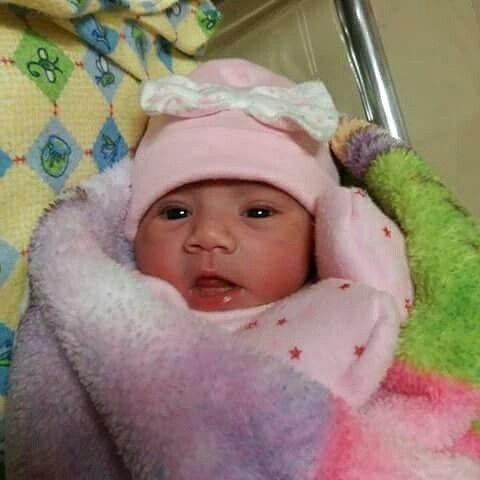 Ya nació! La nueva integrante de la familia Rodriguez Martinez,  ella es ANGELES ARELY  la hermosa nena de Yelmi & Rogelio❤ muchas felicidades a los Jóvenes papás. Que Dios Les Bendiga Siempre