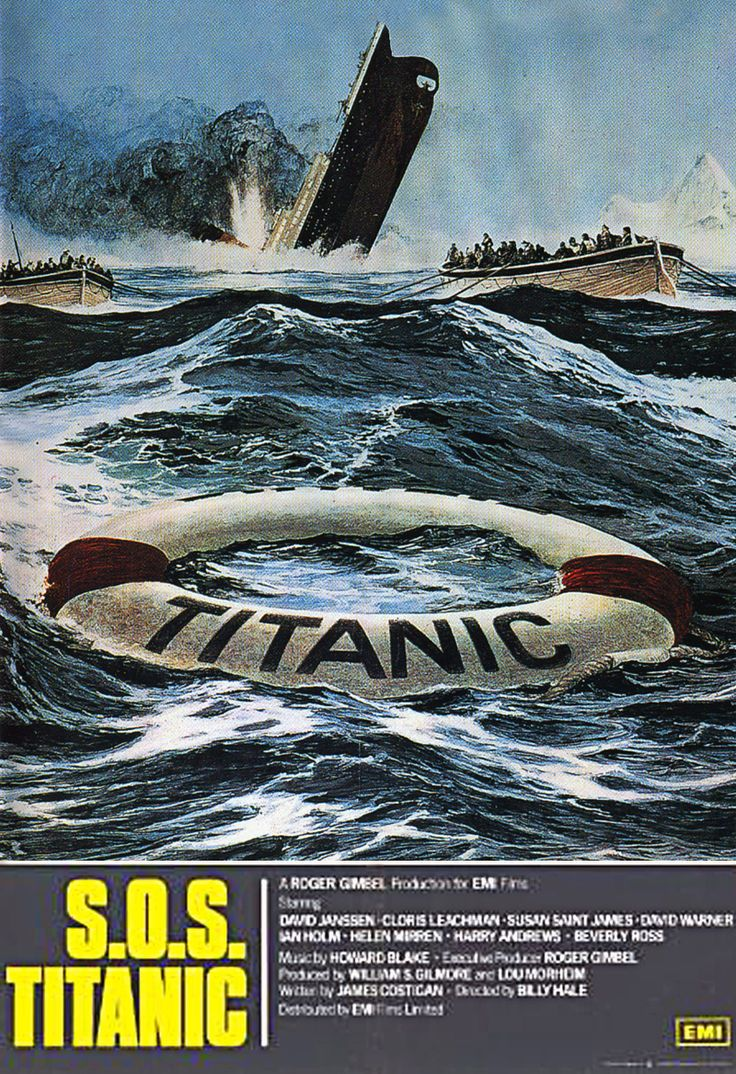 S.O.S. Titanic - informations Blu-Ray DVD