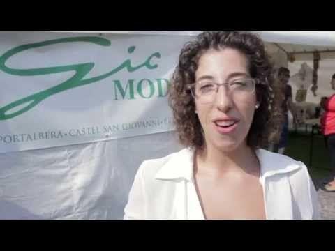 """Mostra """"I ricami in piazza"""" a Broni - prima edizione 30 agosto 2015 - YouTube"""