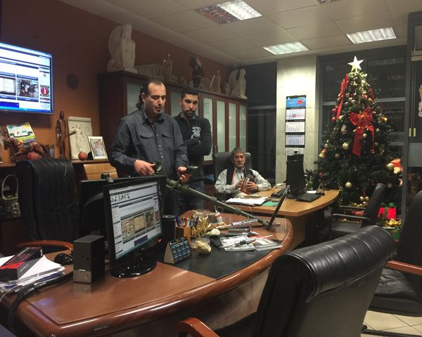The ATX detector in our store! Come for a visit and a presentation of ATX Deepseeker.  10th, Filippou st. Edessa Greece Tel: 00302381023237