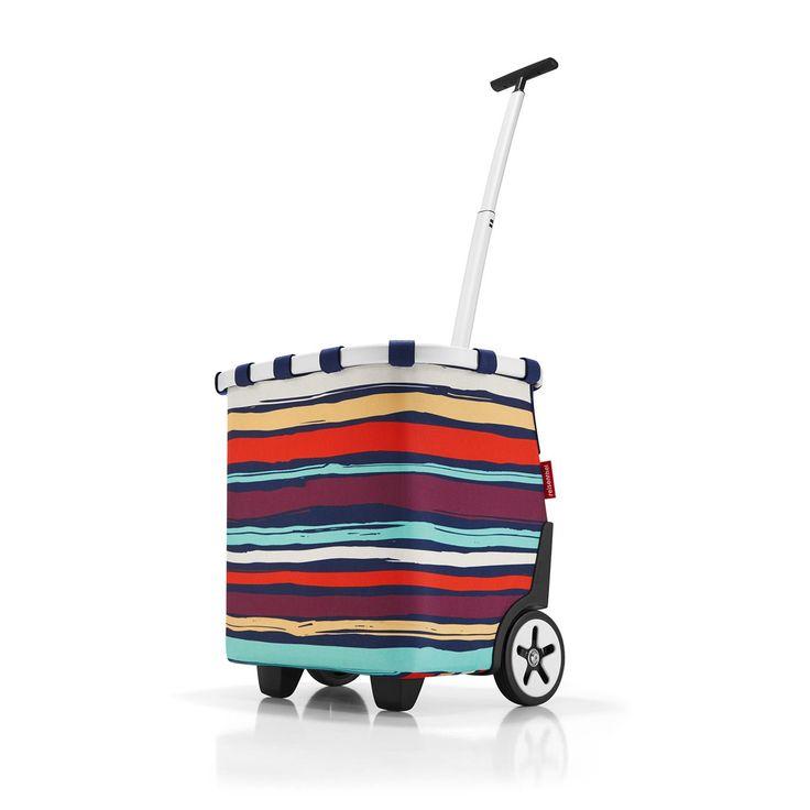 reisenthel Carrycruiser Shopping Trolley, Artist Stripes