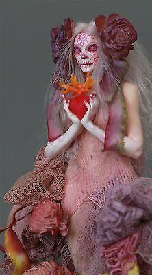 Dia De Los Muertos Catrina-Sagrado Coração De Jesus By Nicole West in Bonecas e ursinhos, Bonecas, Bonecas artísticas - exemplares únicos (OOAK) | eBay