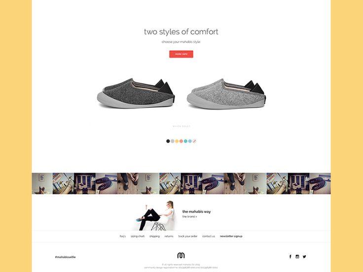Mahabis Homepage by Liam Tucker (London)
