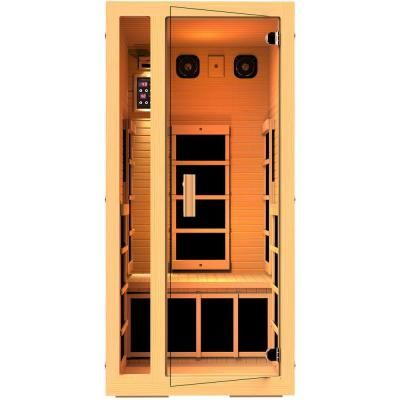 jnh lifestyles joyous person far infrared sauna with carbon fiber heaters easy plug