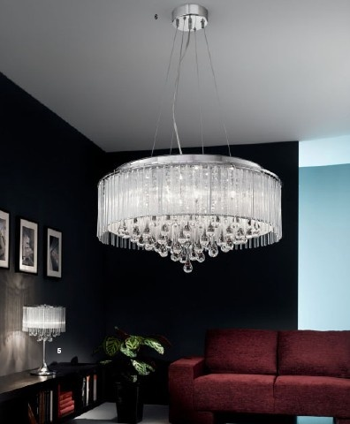 Make a statement with your lighting. Still the best way to transform the look of a room.