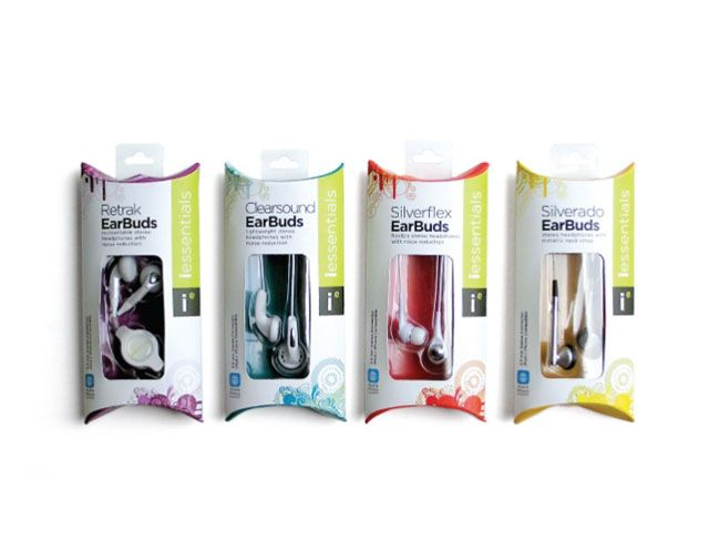 Mizco- i essentials headphones on Packaging of the World - Creative Package Design Gallery