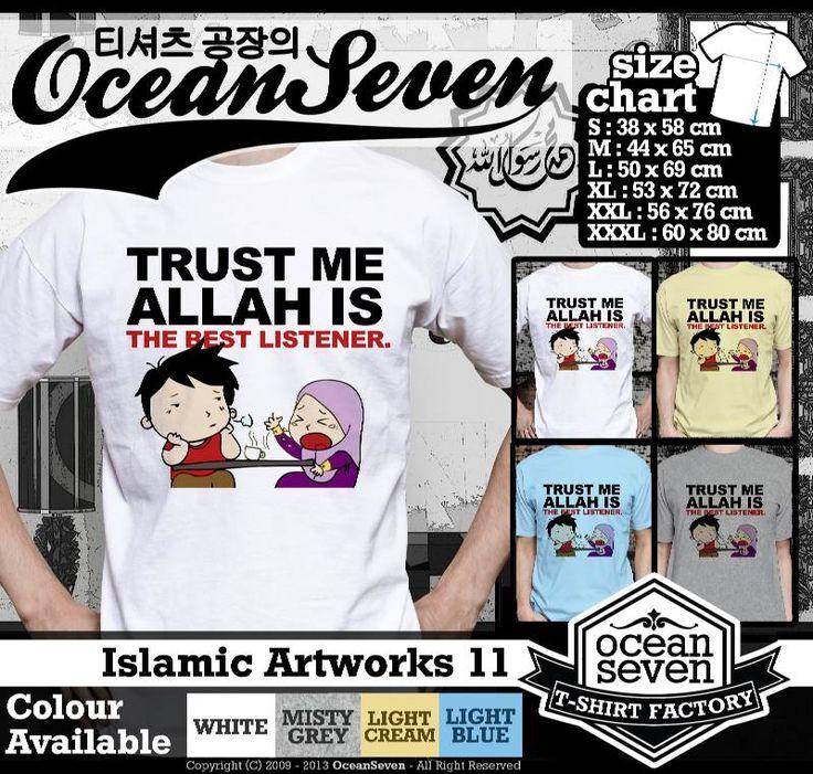 Kaos Distro kartun Islam | Islamic Artworks 1