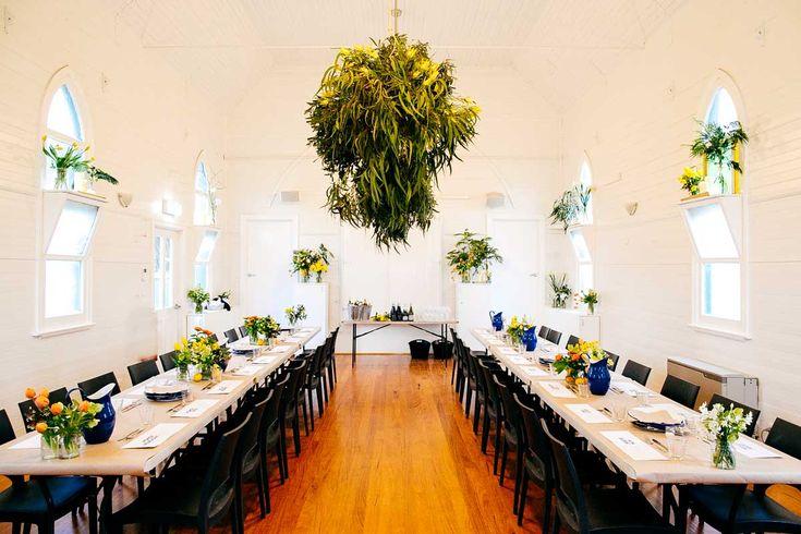 Emerald Community House hall. emeraldcommunityhouse.org.au/venue-hire/, Flowers by #BloomingBrides, Photos by #LoveKatieandSarah