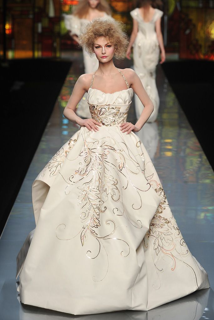 +2014 HAUTE COUTURE BRIDAL GOWNS | Wedding Dress Mood On from Christian Dior Couture Collection ...
