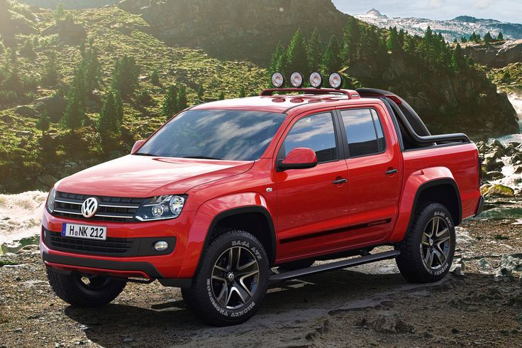 Volkswagen Amarok Canyon, give me this in a diesel with a 6 speed transmission! COME ON VW!!!