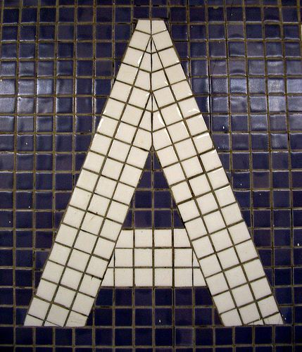 One Letter / A by k.james, via Flickr