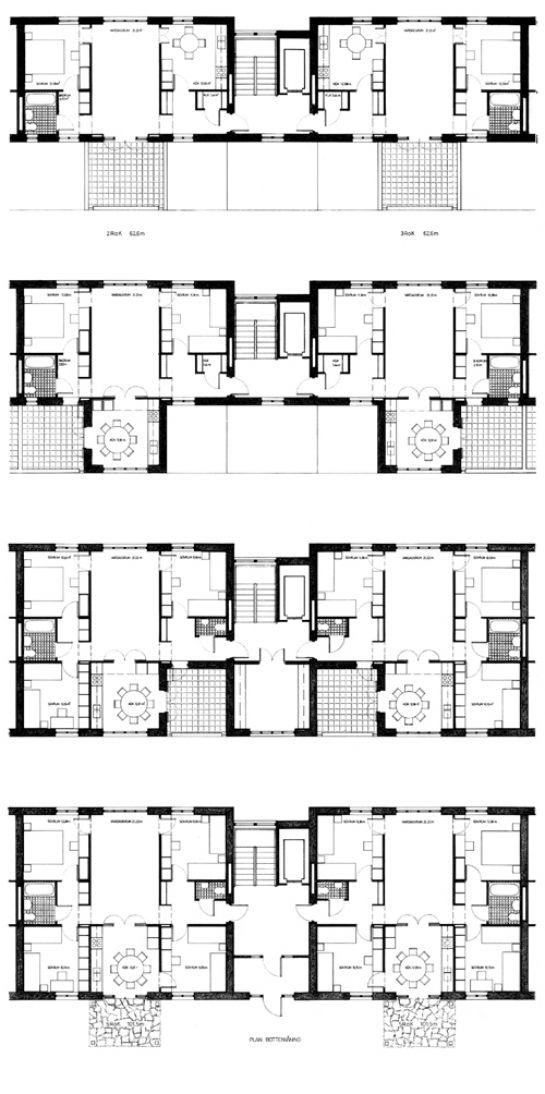 Terrasshus I - study - Stockholm - Sweden - Johan Celsing Arkitektkontor