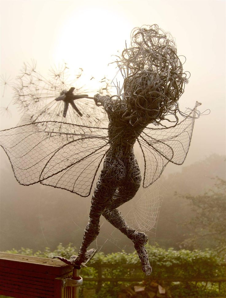 fairy wire sculptures by robin wight 10