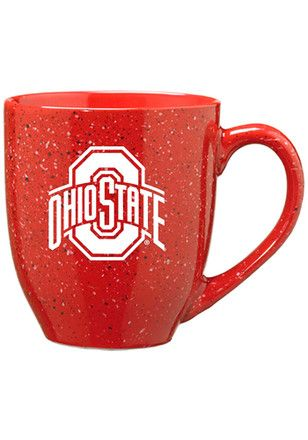 Ohio State Buckeyes 16oz Bistro Speckled Mug