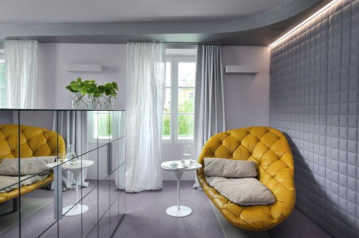 interior design online:Vander Urbani Resort in Ljubljana, Slovenia. Photo byHotel Vander