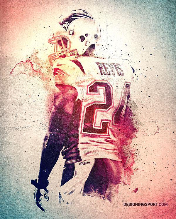 Darrelle Revis, New England Patriots — 'True Patriots' Poster Series