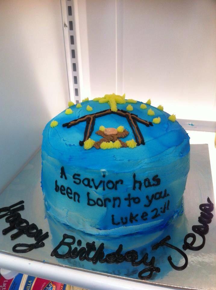 Happy Birthday, Jesus Cake