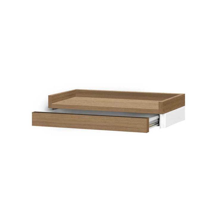 L Hombre Premium wisząca półka do przedpokoju z szufladą